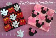 Minnie Mouse Party, Mouse Parties, Mickey Mouse Classroom, Theme Mickey, Craft Projects, Sewing Projects, Quiet Book Templates, Diy Quiet Books, Rock Painting Designs