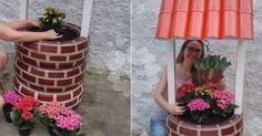 Não Perca!l Como fazer uma linda floreira com pneus usados? - # #flores #plantas #pneus #pneususados