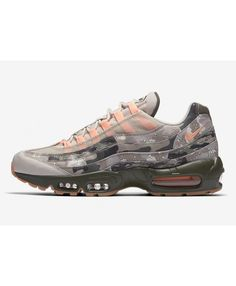 huge selection of a9156 ed80e Nike Air Max 95 Camo Pink White Grey Trainers Cheap Sale Air Max 95 Womens,