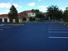 Recent Line Striping Jobs by our ABC Paving & sealcoating Team! #LineStriping #ABCPavingandSealcoating