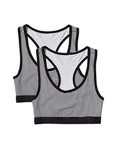 Pack of 2 Iris /& Lilly Womens T-Shirt Cotton Bra Brand