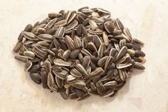 7 Foods To Boost Mood - Sunflower Seeds, another source of tyrosine and also rich in heart-protective vitamin E and selenium.