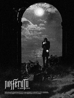 Nosferatu, eine Symphonie des Grauens (F.W. Murnau, 1922) - poster by Brandon Schaefer