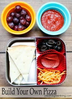 Easy Back to School Lunch Ideas: A Full Month of Sandwich Free Bento Box Lunches Build your own pizza for lunch (and a full month of other sandwich free school lunch ideas!) Easy Back to School Lunch Ideas: A Full Month of Sandwich Free Bento Box Lunches Back To School Lunch Ideas, Back To School Breakfast, Breakfast Pizza, School Ideas, Box Lunches, Bento Box Lunch, School Lunches, Ham And Cheese Pinwheels, Cream Cheese Roll Up