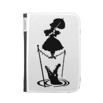 Haunted Mansion Stretching Portrait Kindle Case