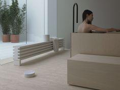 Hot-water radiator SOHO Elements Collection by Tubes Radiatori | design Ludovica Roberto Palomba