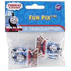 Wilton Licensed Thomas and Friends Fun Pix Pack of 24 >>> Check out this great product.(This is an Amazon affiliate link and I receive a commission for the sales)