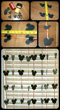 Easy DYI Disney Garland