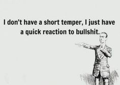 Quick reaction...