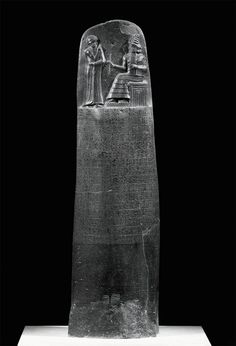 code of hammurabi / 1st know written laws of which came before the ten commandments.