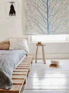 Somier de cama hecho con palets | Ideas Eco