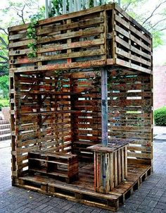 46 mejores im genes de decoracion reciclar home decor for Reciclar palets para muebles