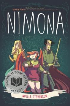 "I could have just missed these in the list, but I also love ""Nimona"" (Noelle Stevenson) because it is hilarious but also has a real emotional journey."
