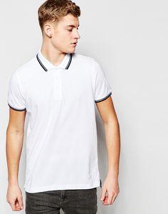 Brave+Soul+Tipped+Polo+Shirt