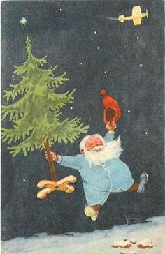 .Norway Christmas God Jul Card
