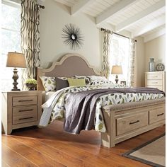 Oak Bedroom Furniture Collection Is Hand Crafted From Solid Golden Oak Home Decor Bedrooms