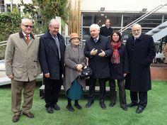 El conseller de Cultura, Ferran Mascarell, (tercer per la dreta) ha presidit l'acte.