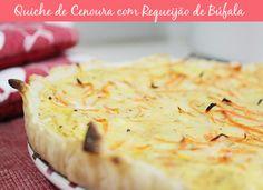 Quiche de cenoura com Requeijão de Búfala http://www.patriciadavidson.com.br/blog/quiche-de-cenoura-com-requeijao-de-bufala/
