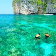 Krabi, Thailand. Wunderschönes klares Wasser, perfekt zum Schnorcheln geeignet :-)