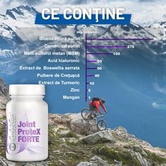 letele Joint ProteX FORTE asigură un plus de suport pentru regenerarea cartilajelor şi producerea lichidului sinovial dintre cartilaje. Chiar dacă dieta dumneavoastră este adecvată, consumaţi prea puţine dintre ingredientele active care v-ar ajuta să vă menţineţi sănătatea articulaţiilor. Aceste tablete oferă doze mari de glucozamină şi condroitină, cunoscute pentru efectul fortifiant asupra articulaţiilor, precum şi acid hialuronic şi MSM, pentru a stimula producţia de Acid Hialuronic