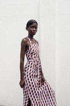 Osei-Duro Demeter Pinafore - Nice Aunty | Garmentory