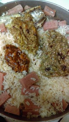 Brown spinach rice check rice recipe chicken gravy gravy liberian food dry rice with fish lunchon meat peppers forumfinder Gallery