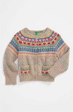 United Colors of Benetton Kids Knit Sweater (Infant) available at #Nordstrom