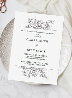 At a loss for what to say on your wedding invitations? Here's our handy guide for writing your wedding invitation message in less than 5 minutes flat.