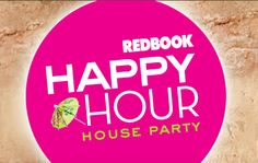 I'll be hosting a Redbook happy hour house party. You can host fun parties too. Learn more at houseparty.com. #redbookparty