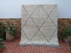 Beni Rugs, Art Tribal, Beni Ourain, Berber Rug, Handmade Rugs, Hand Weaving, Carpet, Vintage, Etsy