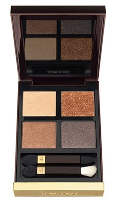 Right amount of shine in this Tom Ford eyeshadow quad.