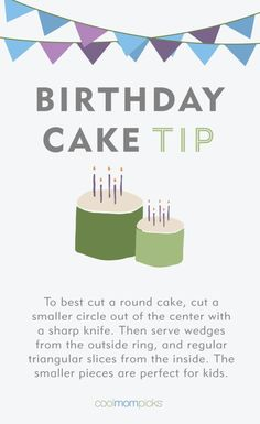 Birthday Cake Tip: c