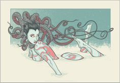Octopus Girl by Jeral Tidwell