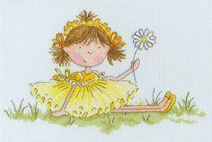 Meadow Flowers - Little Jem - Bothy Threads