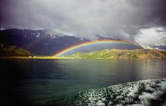 A rainbow in Patagonia