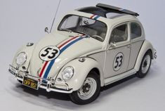 Building the VW 1300 Beetle 1963 - Herbie - Tamiya 1/24 scale