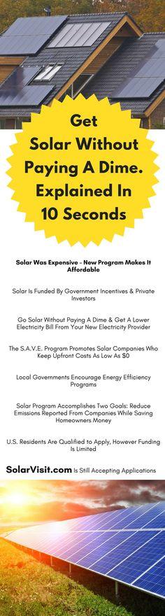We should all go solar