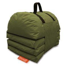 Textrade International Smooff Lounge Cushy Camping Mat Jungle Green - SML20106JG