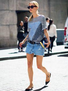 7 Fresh Summer Outfit Formulas to Wear All Season Long via @WhoWhatWear