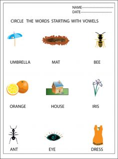 REPIN Vowels Lessons Worksheets. The best source for all types of lesson plans for children.