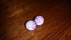 Items similar to Purple lotus flower inspired studs on Etsy Lotus Flower, Heart Ring, Studs, My Etsy Shop, Inspired, Purple, Nails, Check, Creative