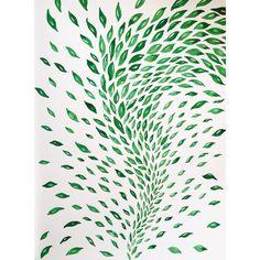 34/365 | Part three | Del av något större | Tid: 1h |  @micaelawernberg #illustration #blad #grönt #nature #wind #flow #botanic #garden #bladverk #drawing #art #drawingoftheday #artoftheday #brush #watercolor #leafs #365project #paper #oneaday2016 #painting #handdrawn #organic #spring #madebyhand #sunday