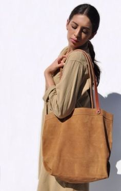 Sold-Out-Apiece-Apart-Suede-Market-Tote-Bag