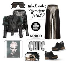 """""""The modern urban world"""" by zabead ❤ liked on Polyvore featuring KÉJI, ISABEL BENENATO, Paloma Barceló, Jamin Puech, Marc Jacobs, VaVa and modern"""