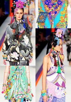Camilla S/S 2012 Australian Fashion Week diggin' all these patterns