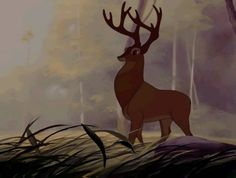 The Great Prince of the Forest Bambi Film, Bambi 1942, Film Base, Disney Films, Princesas Disney, Artsy Fartsy, Scooby Doo, Giraffe, Moose Art