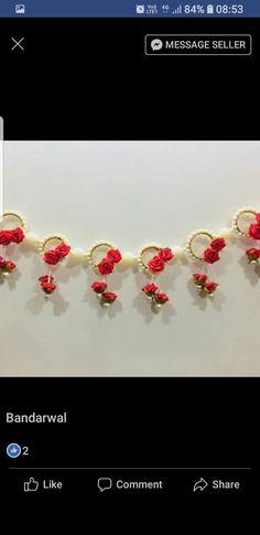 Door Hanging Decorations, Diy Diwali Decorations, Diy Wedding Decorations, Diy Jewelry Charms, Bow Jewelry, Diwali Diy, Diwali Craft, Gift For Raksha Bandhan, Rakhi Design