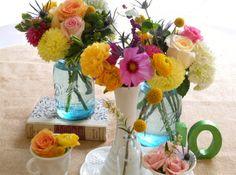 Vintage Glass Rentals - Farm & Filigree Vintage Rentals will make your heart skip a beat...