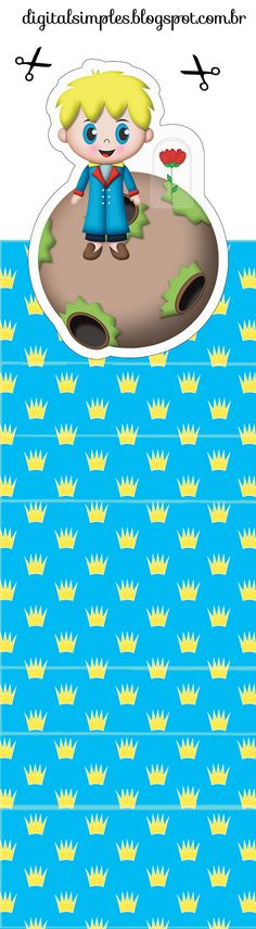 The Little Prince: Free Printable Original Nuggets Wrappers.