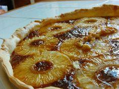 Tarte à l'ananas très facile : Recette de Tarte à l'ananas très facile - Marmiton